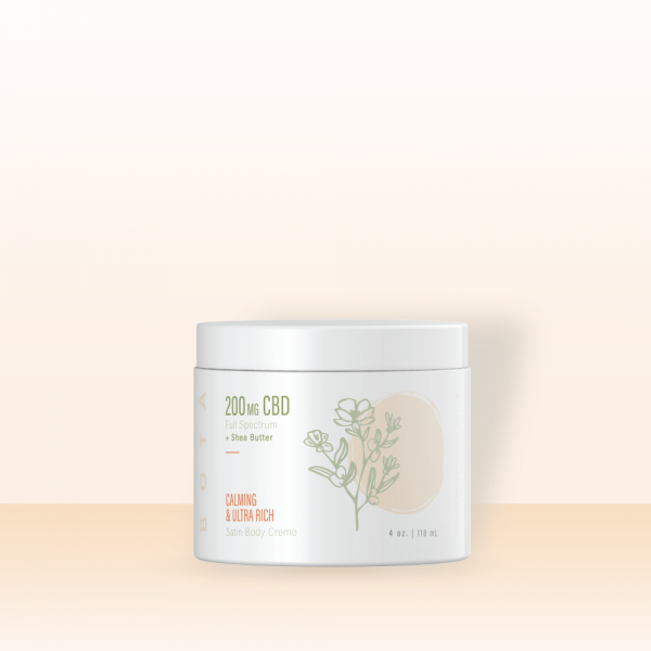 body creme with background