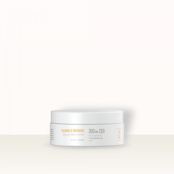 muscle melt creme with background